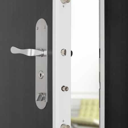 Porte blind e picard diamant tierce d pannage for Installation porte blindee